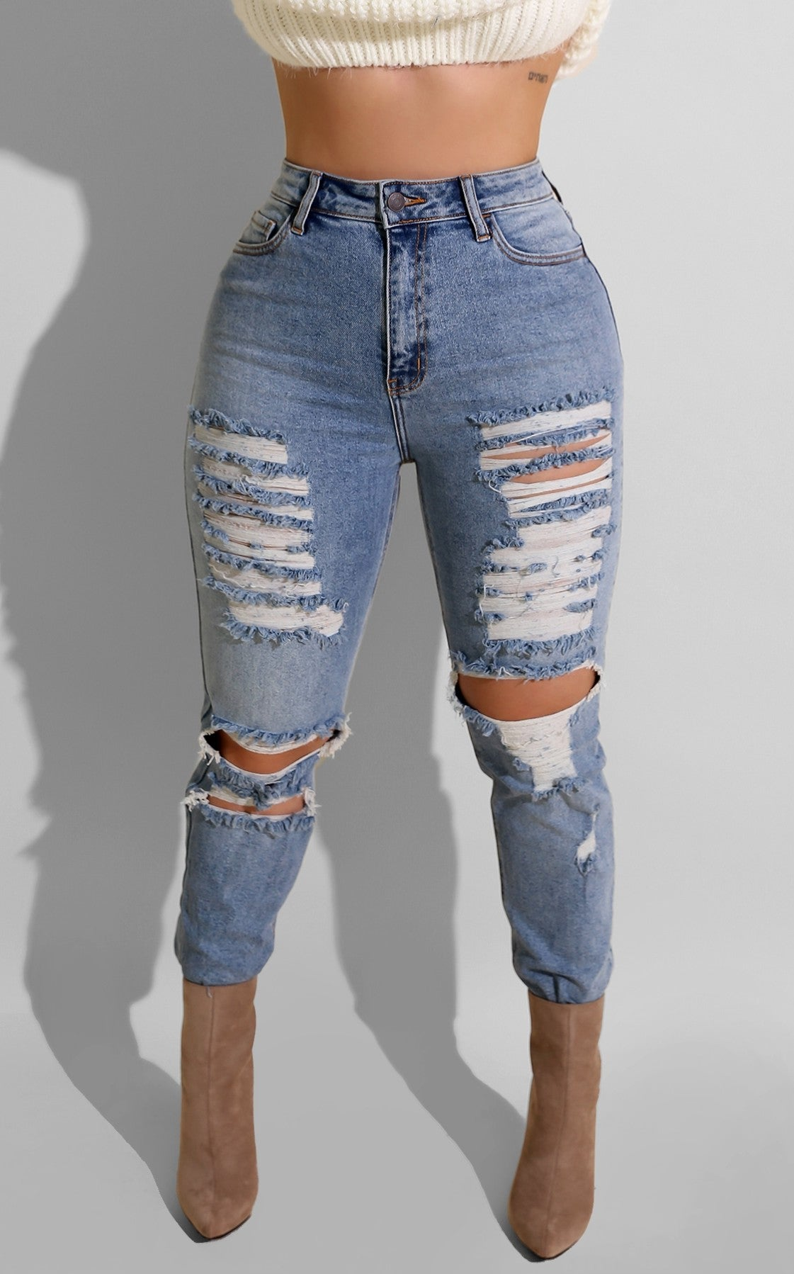 Unstressed Jeans
