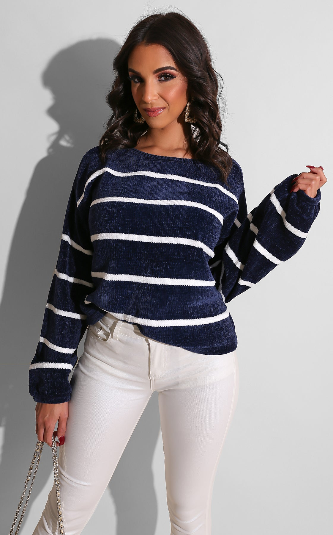 Sister Cozy Sweater Blue