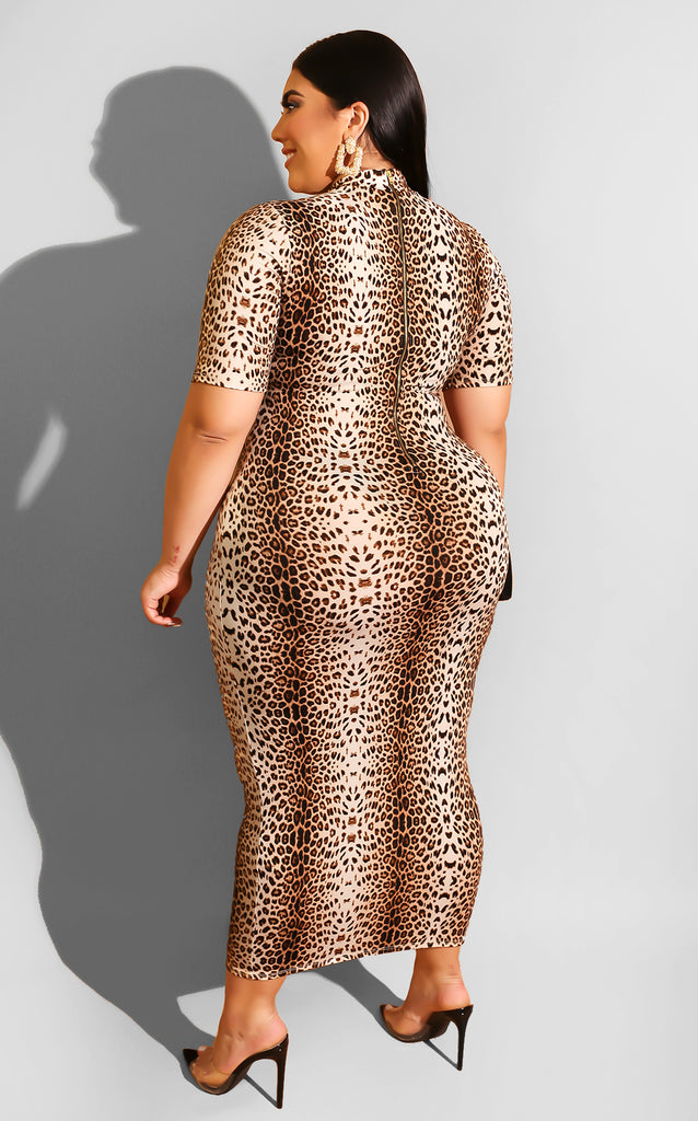 Curvy Strike Again Midi