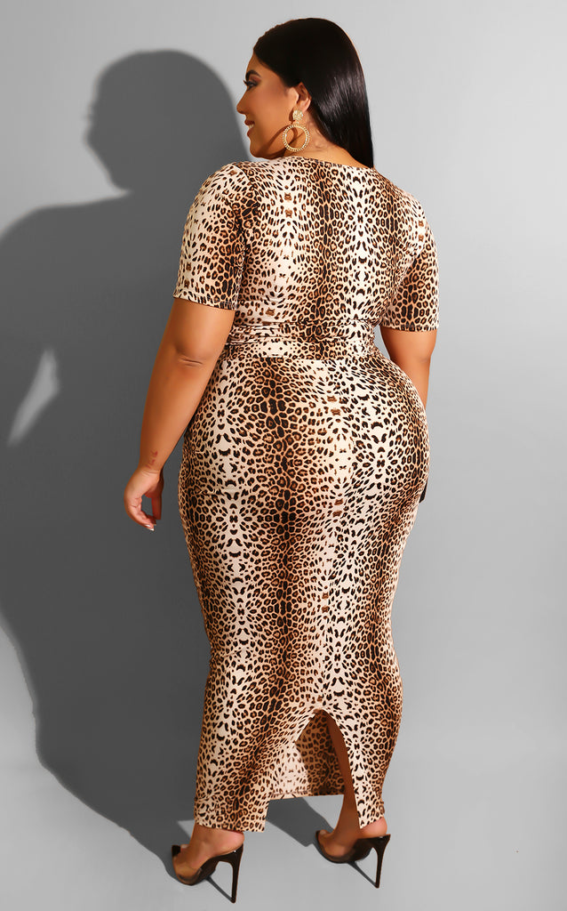Curvy Fall is for Leopard Set