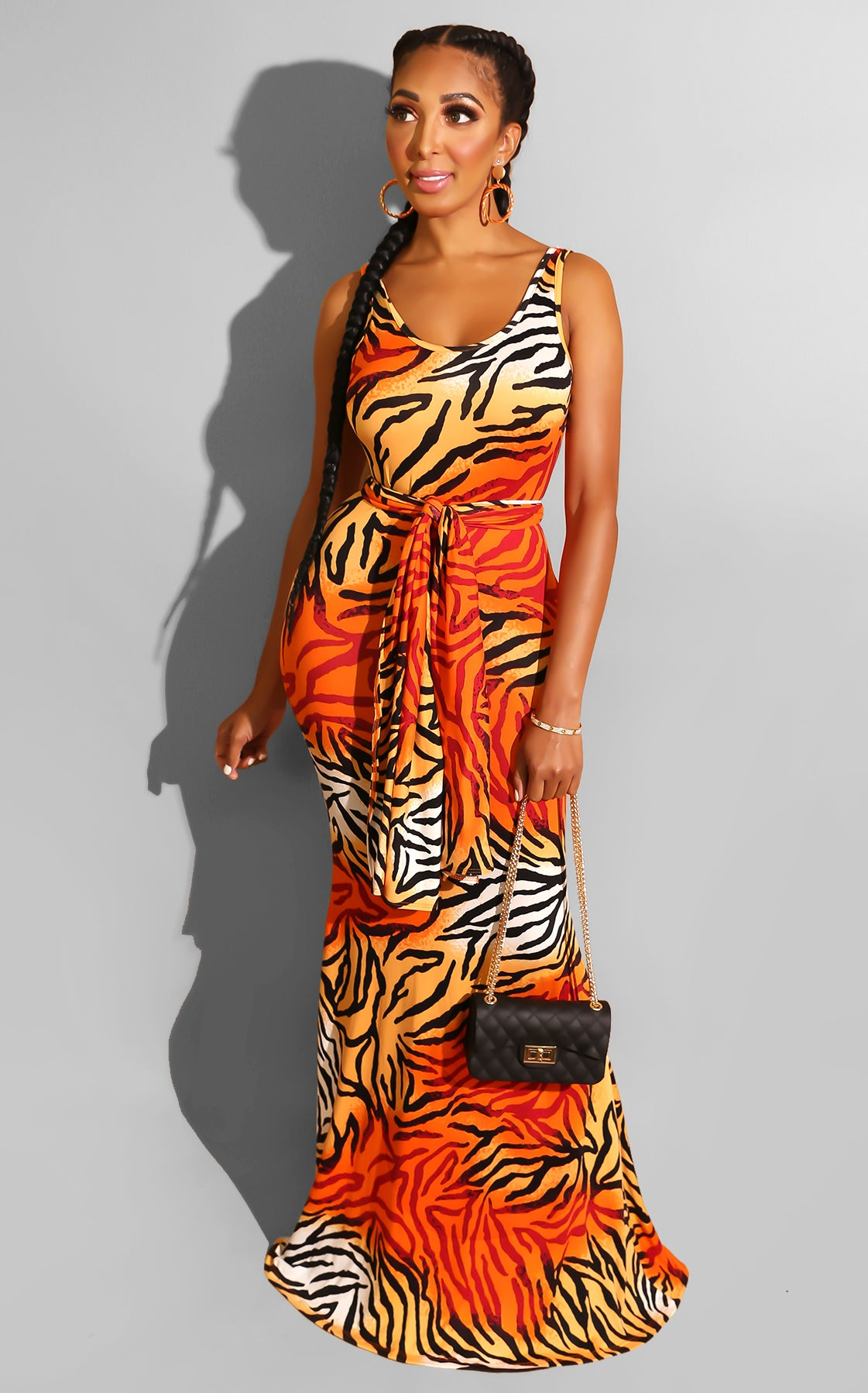 Eye of the Tiger Dress
