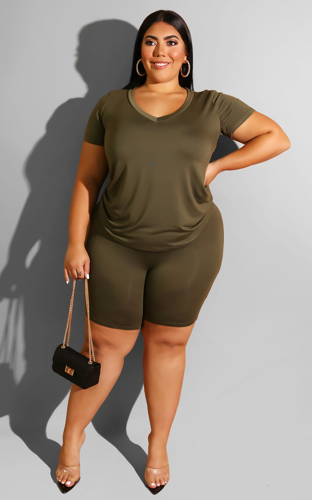 Curvy Fall Everyday Chill Set