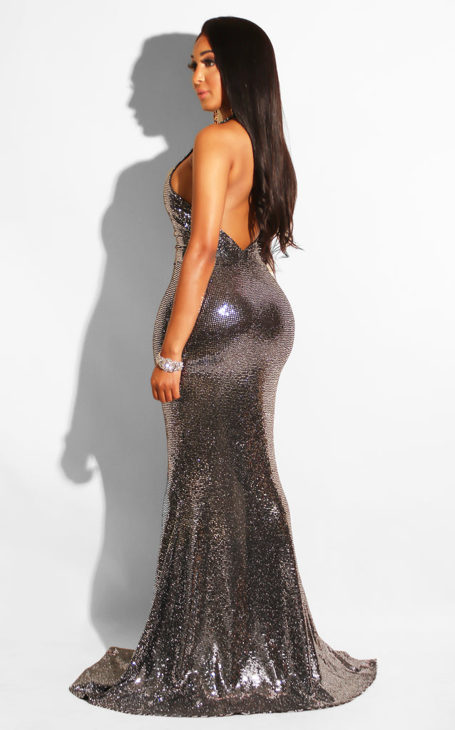 Seductive Sequin Gown