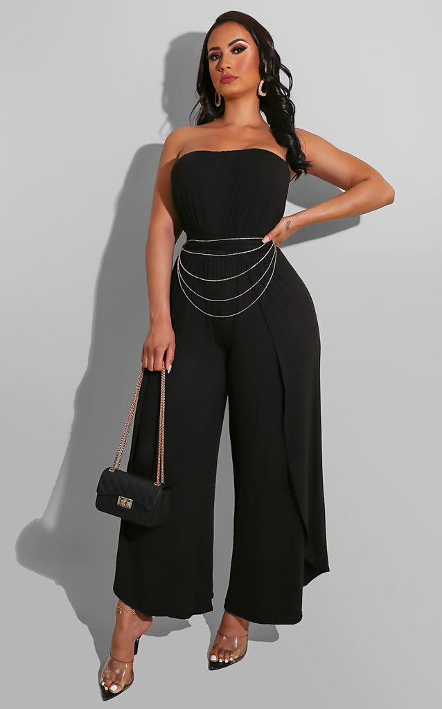 Constance Jumpsuit Black