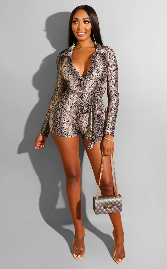 Feelings Run Wild Romper