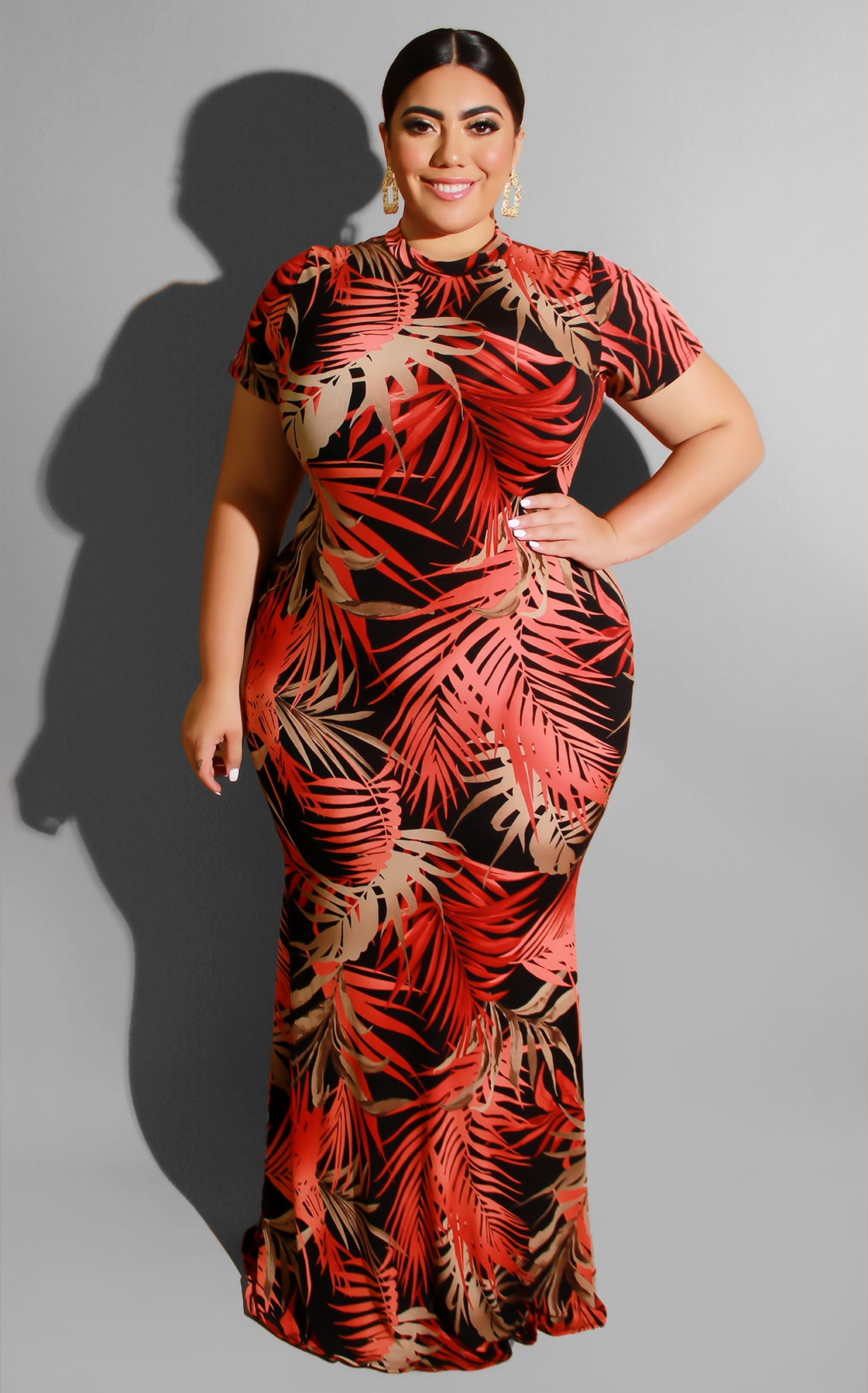 Curvy Palms Mar Maxi