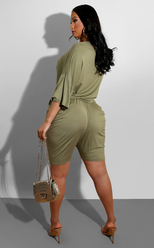 Easy Breeze Set Olive