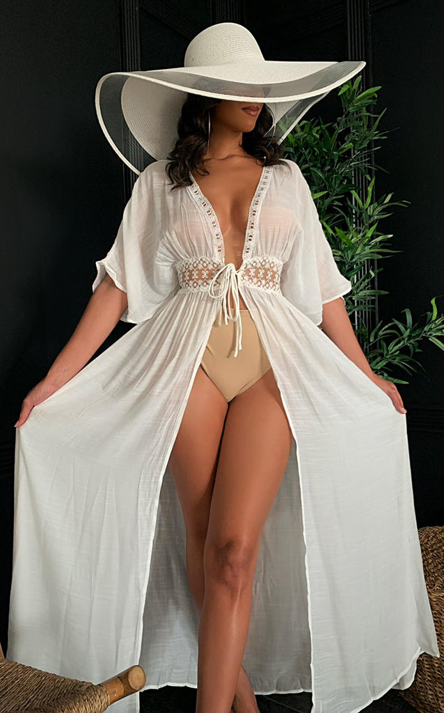 Goddess Coverup White
