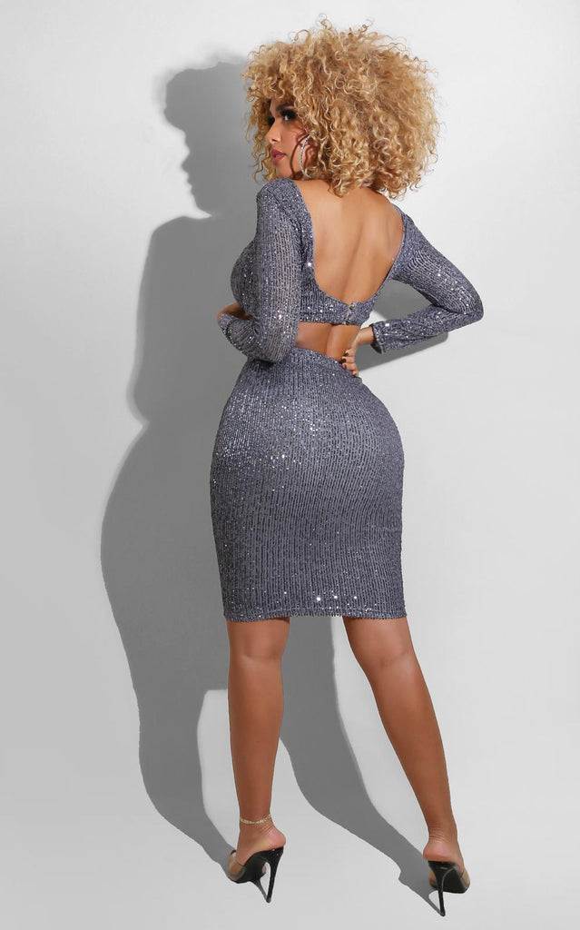 Sparkle Fall Set Grey