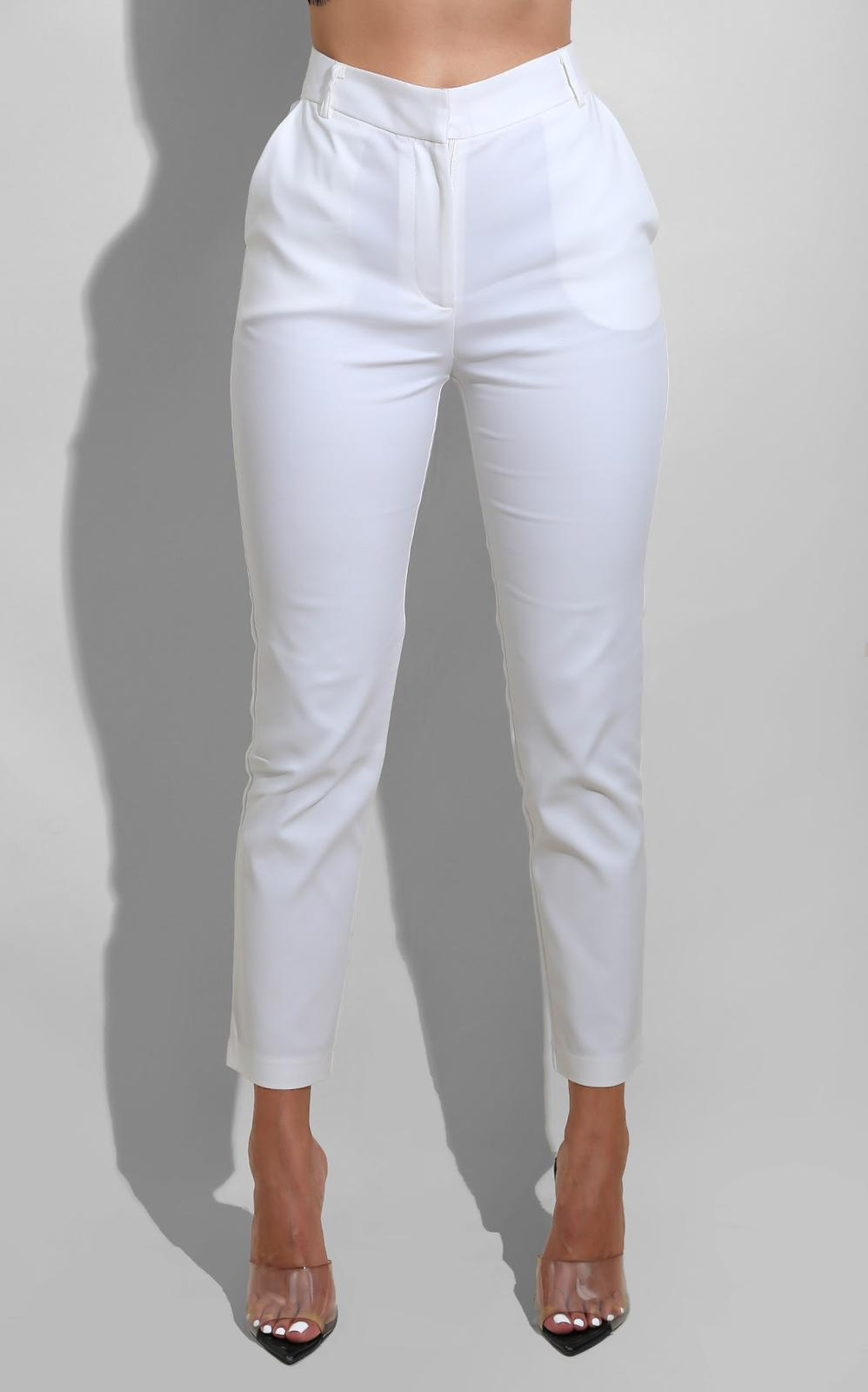 White Winter Trouser
