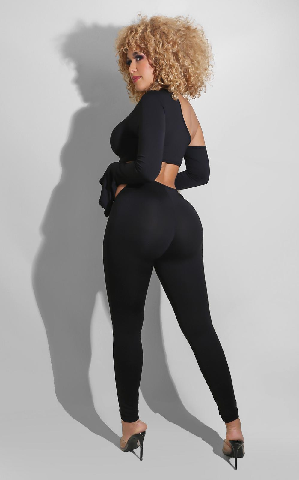 The Most Pant Set Black