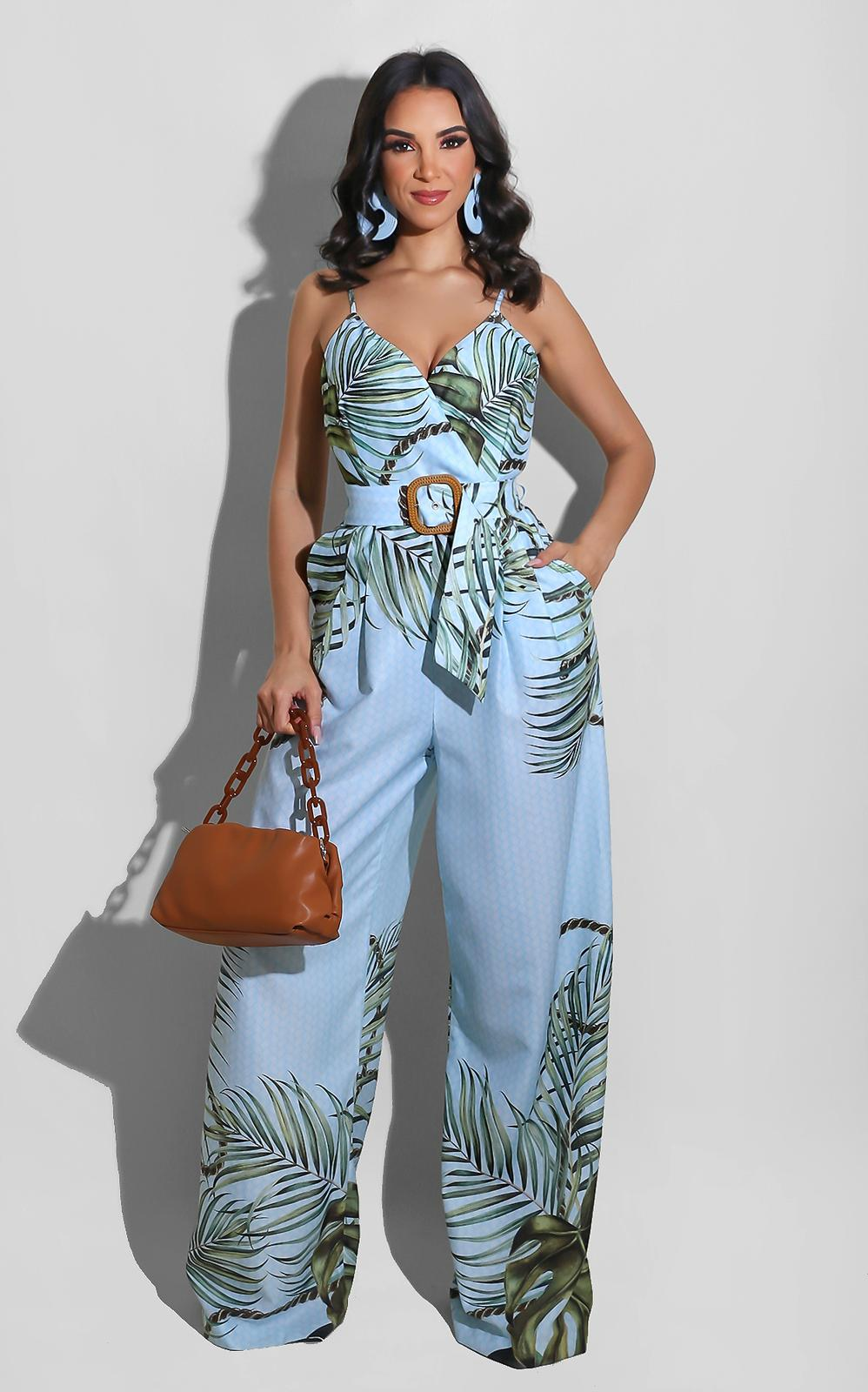 On Chill Vacay Jumpsuit