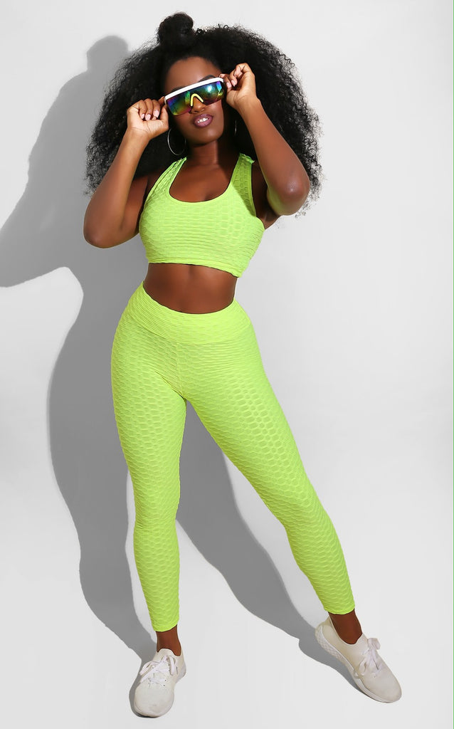Scrunch Bum Set Lime