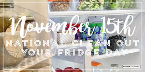 National Clean Out Your Fridge Day - Just in Time for Thanksgiving