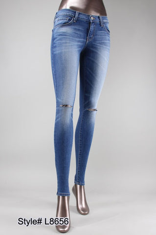 Blue Resort Skinny Jeans