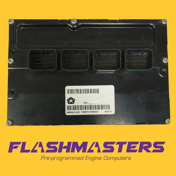 2008 Caravan 3.3L Engine computer 68024801 ECU ECM PCM