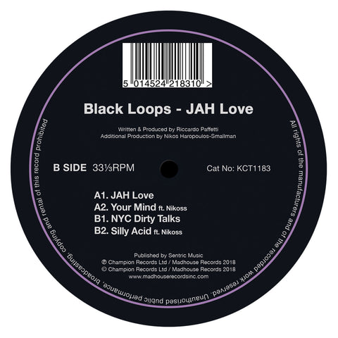 "Black Loops - JAH Love (12"" Vinyl)"