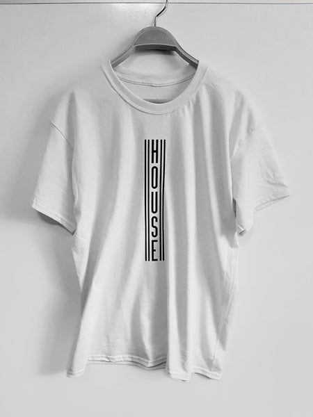 'House Tee' - White - '25 Years' Collection