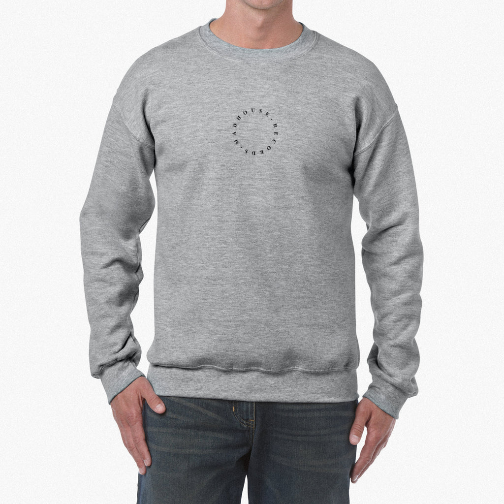 Heather Grey Embroidered Sweatshirt *BRAND NEW*