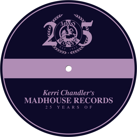 Madhouse Records: 25 Years Of *Limited Edition* Slipmats (Pair)