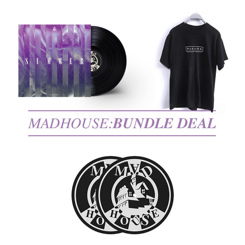 "'Madhouse : Summer' [12""] + Madhouse 'Tokyo Tee' + Slipmats Bundle Deal"