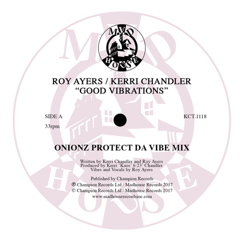 "Roy Ayers & Kerri Chandler - Good Vibrations (12"" Vinyl)"