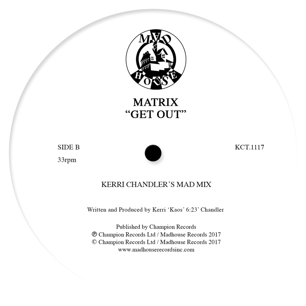 "Matrix - Get Out (12"" Vinyl)"
