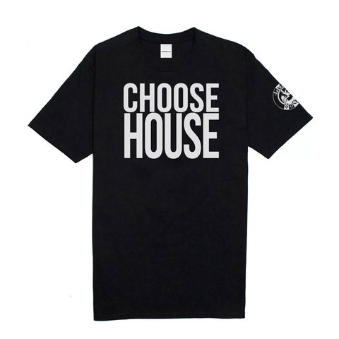 'Choose House' Tee - Black