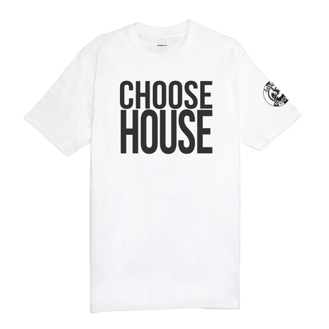 'Choose House' Tee - White