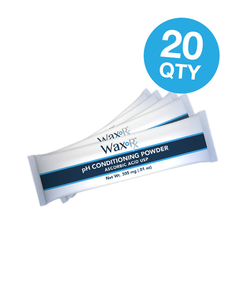 Wax-Rx™ pH Conditioned Ear Wash Powder (20 QTY)