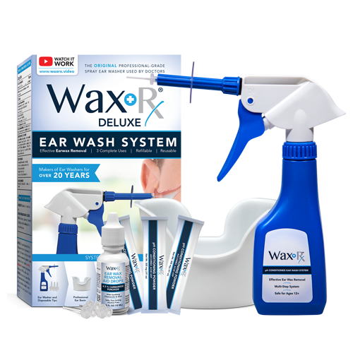 Wholesale Wax-Rx™ Deluxe Ear Wash System
