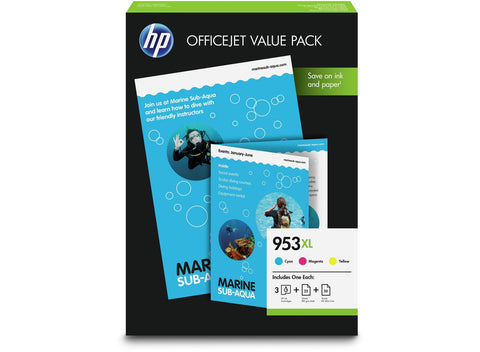 HP Original Tinte Nr.953XL 1CC21AE Value Pack fuer Officejet Pro 8210