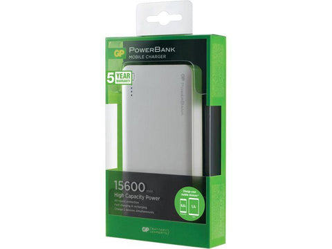 GP PowerBank 3C15A White Li-ION 3,7V 15600mAh