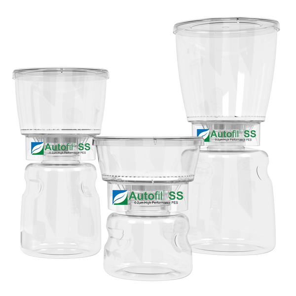 Autofil SS Bottletop Filter by Foxx Life Sceinces