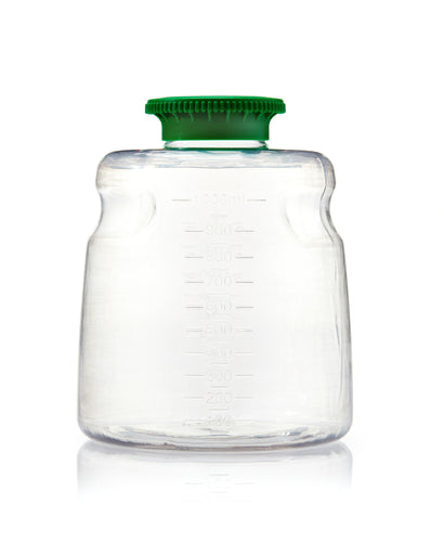 1L PETG SECUREgrasp® Media Bottle, Sterile