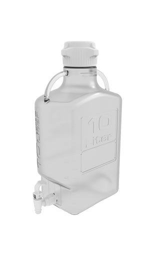 10L (2.5 Gal) PETG Carboy with 83B Cap and Spigot