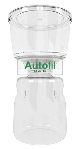 12/case 500ml Autofil® .2μm High Flow PES Bottle Top Filter, Full Assembly