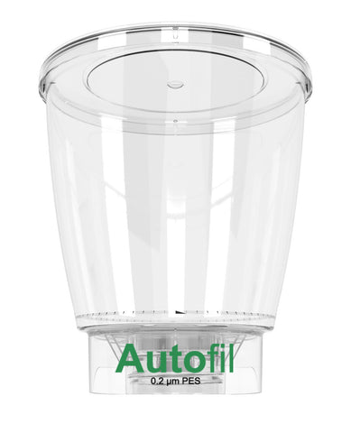 24/case 1000ml Autofil® .2μm High Flow PES Bottle Top Filter, Funnel Only
