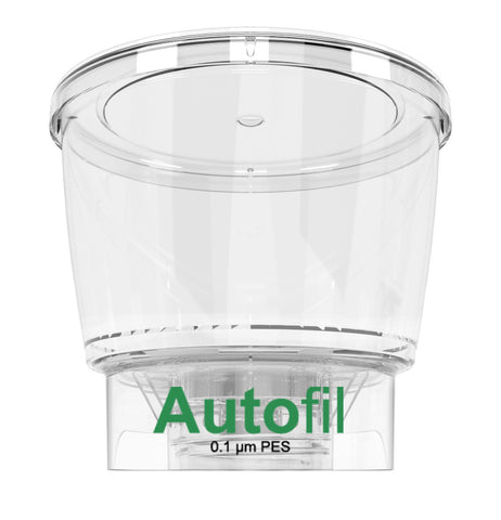 24/case 500ml Autofil® .1μm High Flow PES Bottle Top Filter, Funnel Only