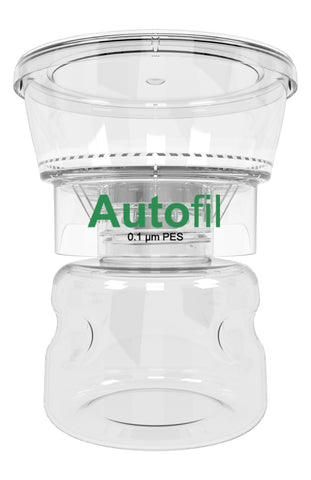 12/case 250ml Autofil® .1μm High Flow PES Bottle Top Filter, Full Assembly