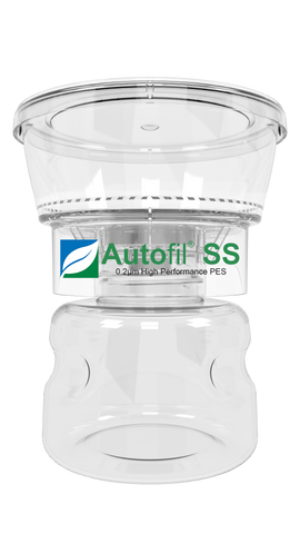 Foxx Autofil SS 0.2µm 250mL Bottle Top Filtration Unit