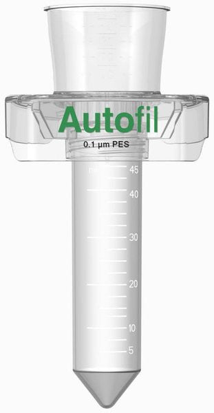 24/case Autofil® 50ml Vacuum Filter .1μm High Flow PES w/ tube