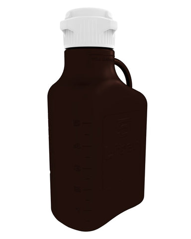 5L (1 Gal) Dark Amber PP Carboy with 83mm Cap