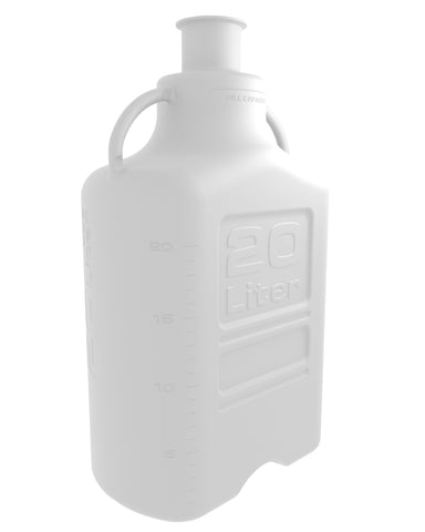 "20L (5 Gal) PP Carboy with 3"" Sanitary Top"