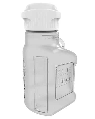 2.5L (0.5 Gal) PETG Carboy with 83mm Cap