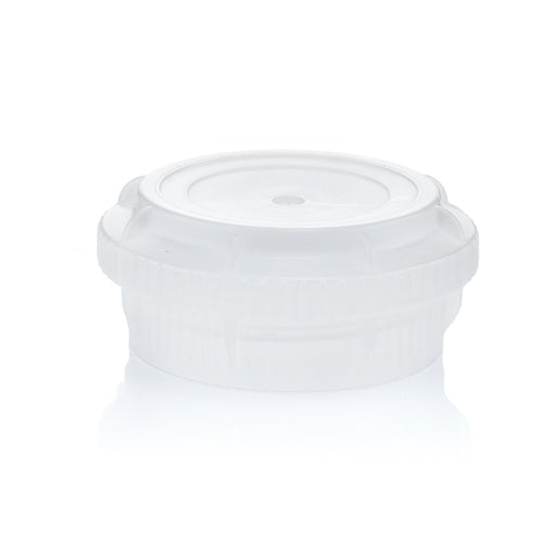 EZBio® GL45 Closed Cap, Natural PP for Plastic Bottles