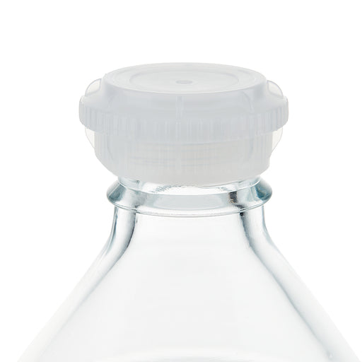 EZBio® GL45 Closed Cap, Natural PP for Glass Bottles