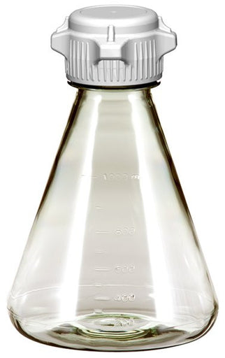 1L EZclear® Erlenmeyer Flask w/ 53mm VersaCap®, Not Sterile