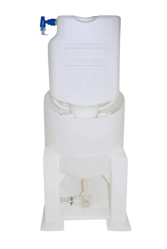Carboy Rinse Station for Vessels, Tanks, and Carboys