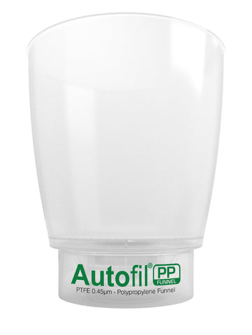 Autofil PP, 1000mL Funnel Assembly, 0.45µm Foxx High Flow PTFE Membrane